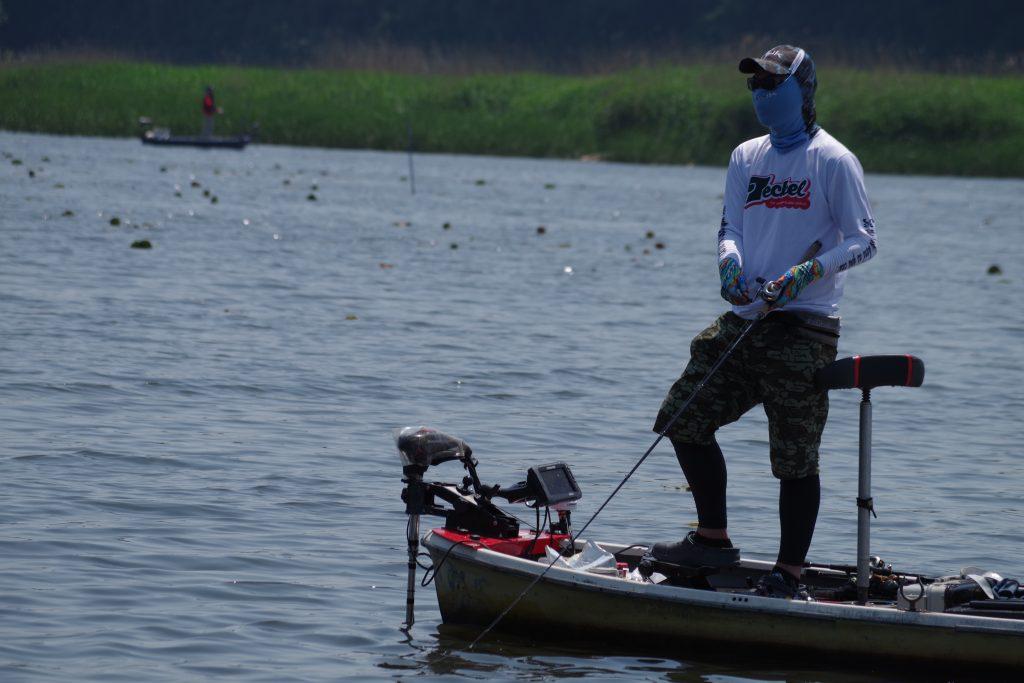 釣り人による紫外線対策