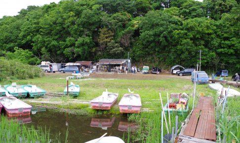 牛久沼たまやボート201705