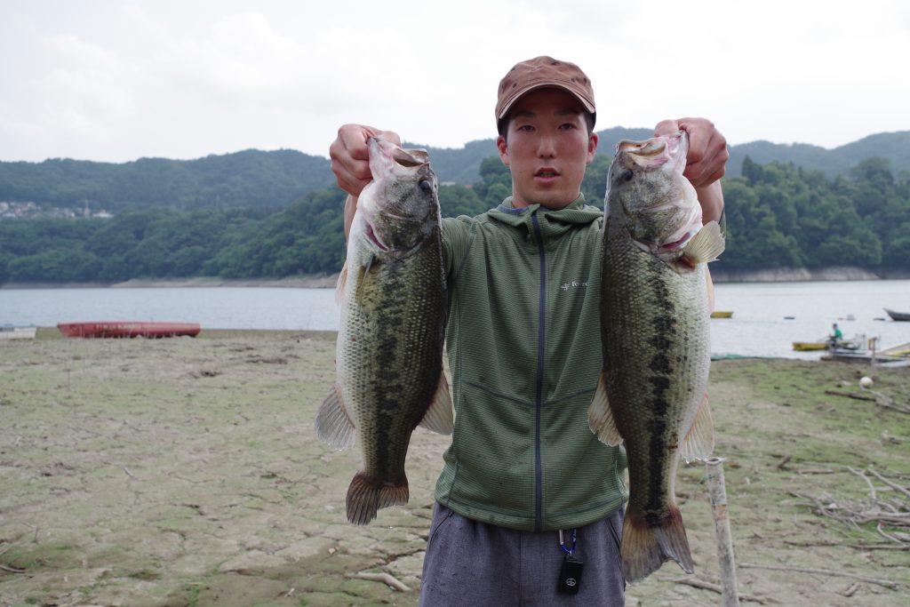 津久井湖のビッグバスたち