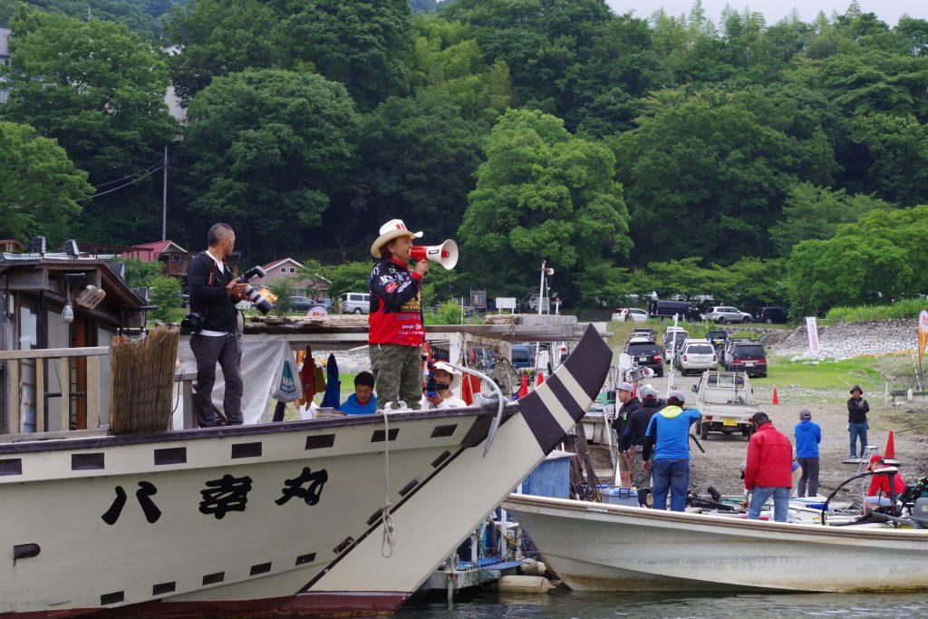津久井湖観光前減水