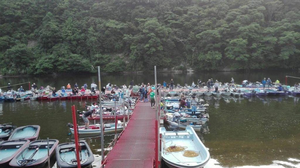 亀山ダムのむらボートミシマオープン