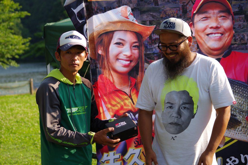 折金選手(オリキン)H-1グランプリ亀山戦