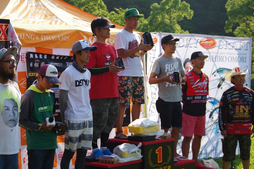 H-1グランプリ上位5人亀山2017