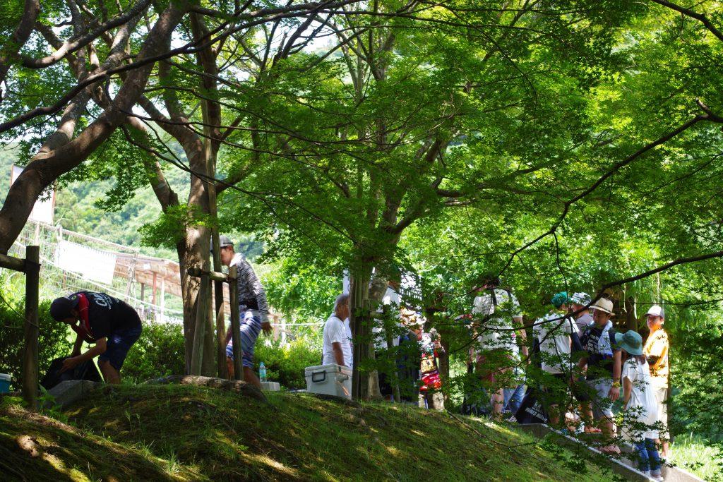 亀山湖の夏