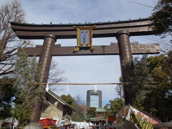 浅草神社鳥居