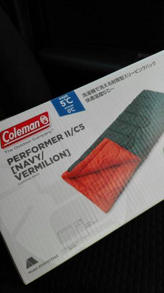 コールマンの寝袋