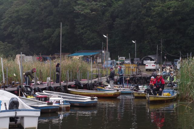 牛久沼たまやボート