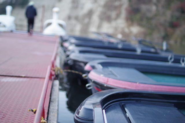 亀山ダムのむらボート