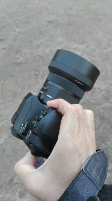 シグマ単焦点レンズ
