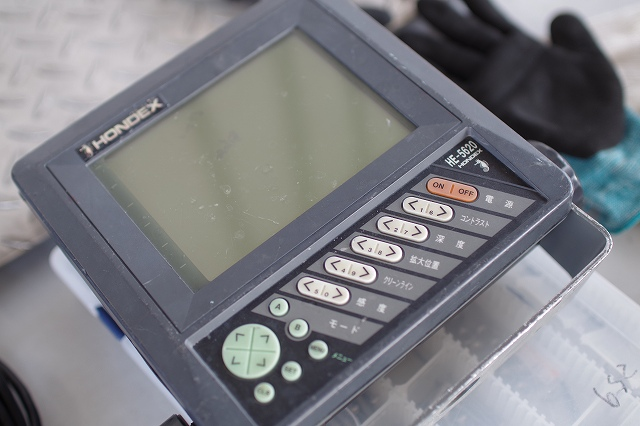 ホンデックス魚群探知機