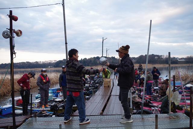 牛久沼たまやボートバス釣り