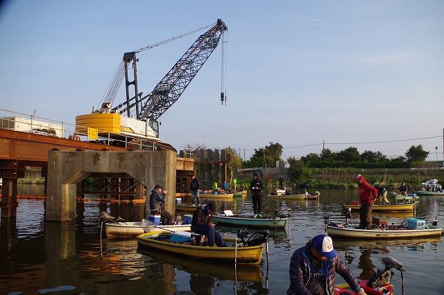 新利根川バス釣り
